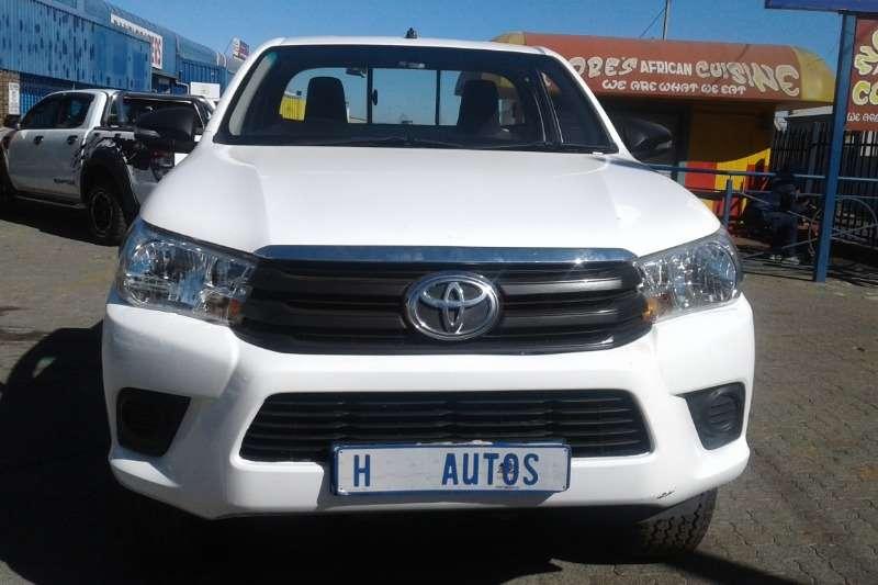 Toyota Hilux 2,4 2017