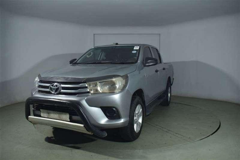 Toyota Hilux 2.4 GD 6 RB SRX P/U D/C 2016