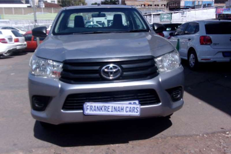 Used 2017 Toyota Hilux 2.4GD