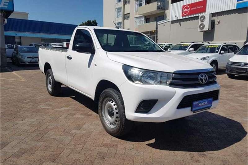 Toyota Hilux 2.4GD 6 4x4 SR 2017
