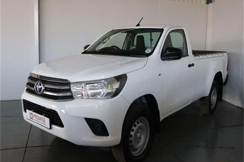 Toyota Hilux 2.4GD 6 4x4 SRX 2016