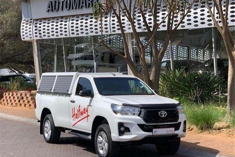 Toyota Hilux 2.4GD-6 4x4 SRX 2019
