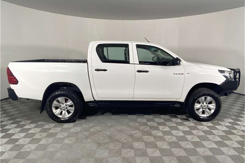 Used 2016 Toyota Hilux 2.4GD 6 double cab 4x4 SR