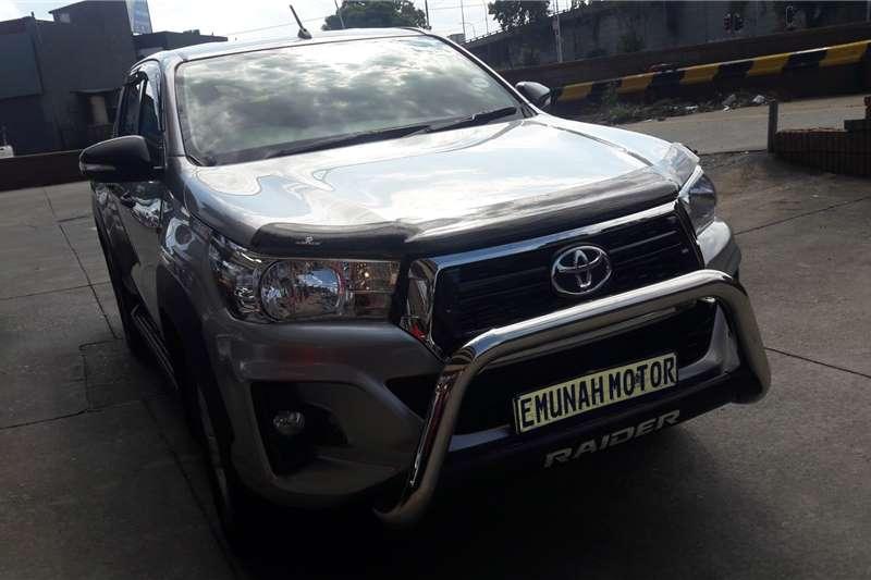 Toyota Hilux 2.4GD 6 double cab 4x4 SR 2019