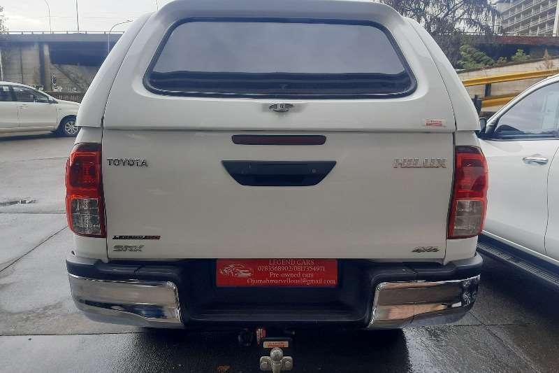 Used 2017 Toyota Hilux 2.4GD 6 double cab 4x4 SRX