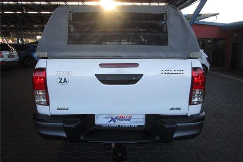 Used 2018 Toyota Hilux 2.4GD 6 double cab 4x4 SRX
