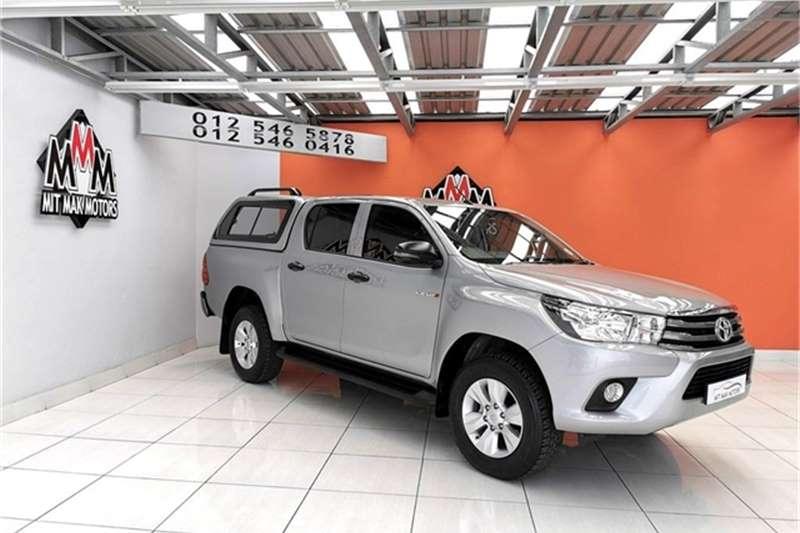 Toyota Hilux 2.4GD 6 double cab SRX 2018