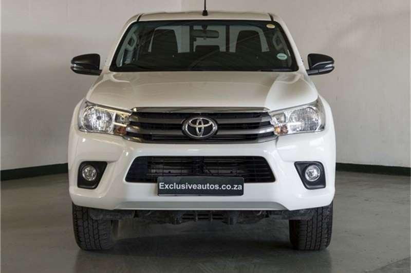 Toyota Hilux 2.4GD-6 double cab SRX 2018
