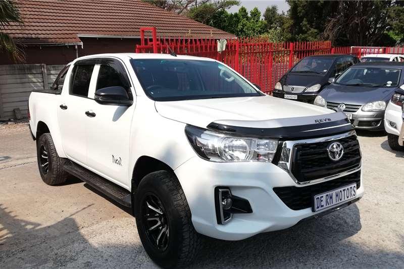 Toyota Hilux 2.4GD 6 double cab SRX 2019