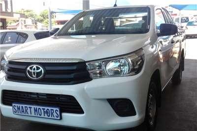 Toyota Hilux 2.4GD 6 SRX 2016