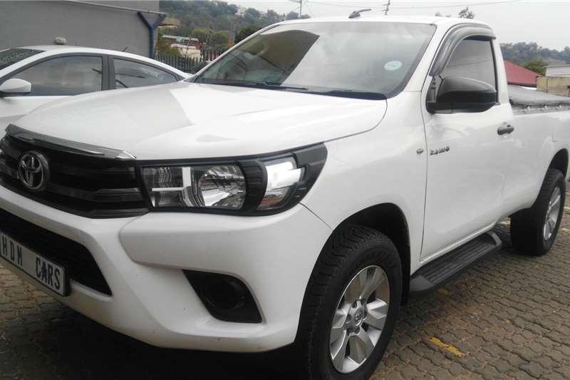 2017 Toyota Hilux Hilux 2.4GD-6 SRX