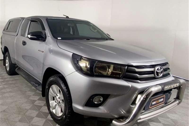 2017 Toyota Hilux Hilux 2.4GD-6 Xtra cab SRX