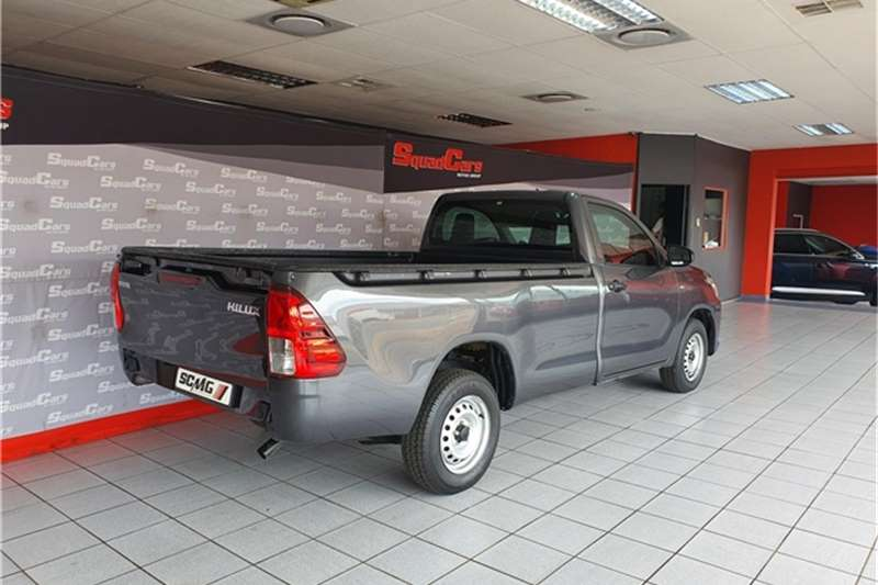 Used 2017 Toyota Hilux 2.4GD (aircon)