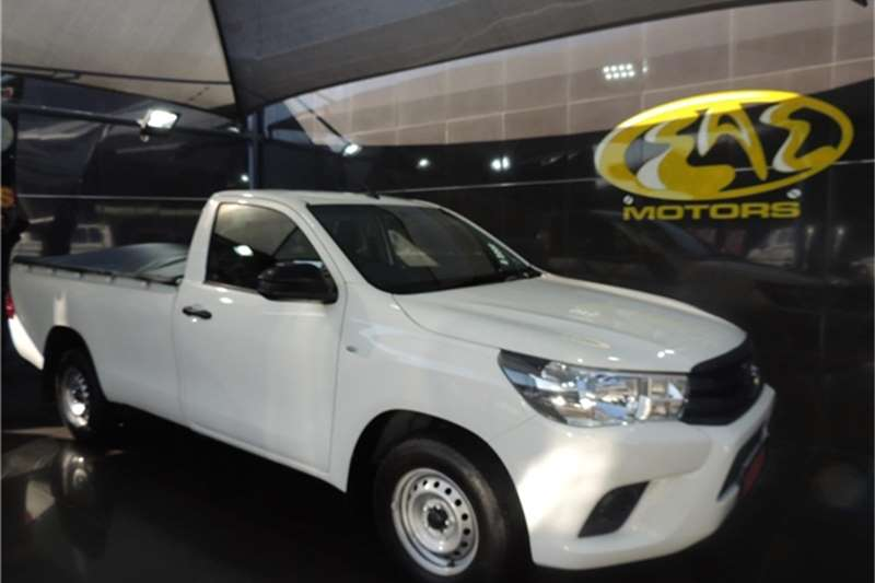 2018 Toyota Hilux Hilux 2.4GD (aircon)