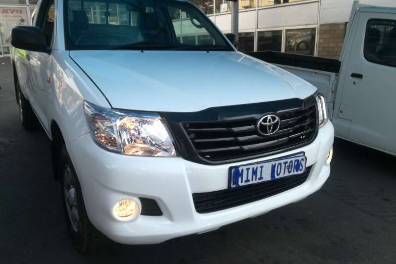 Toyota Hilux 2.5 SRX single cab 2012