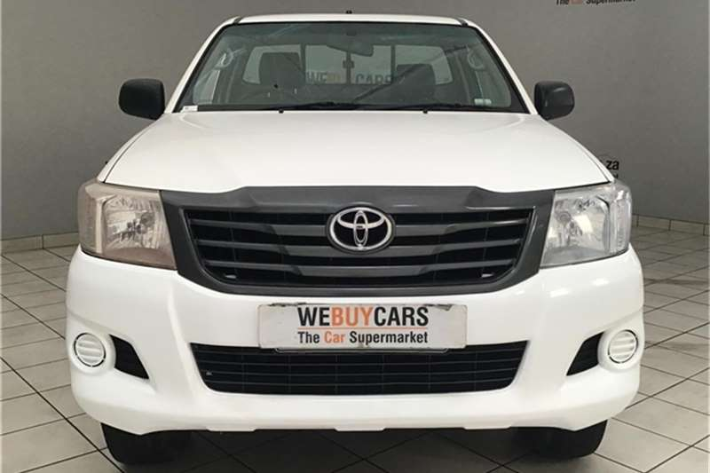 Toyota Hilux 2.5D-4D 4x4 SRX 2013