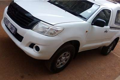 2013 Toyota Hilux Hilux 2.5D-4D 4x4 SRX