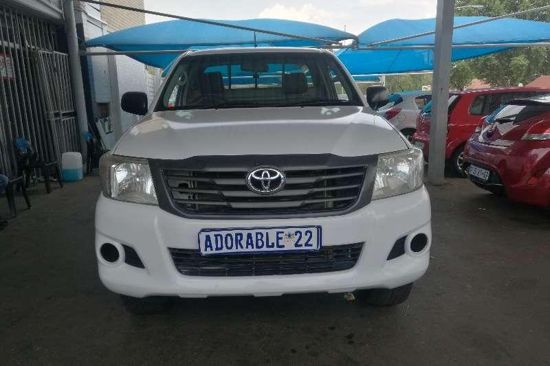 Toyota Hilux 2.5D 4D 4x4 SRX 2014