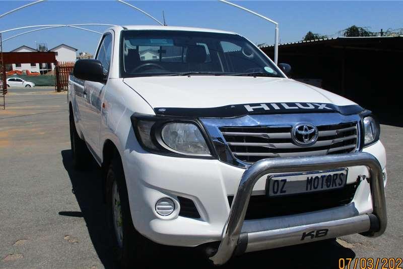 Toyota Hilux 2.5D 4D 4x4 SRX 2015