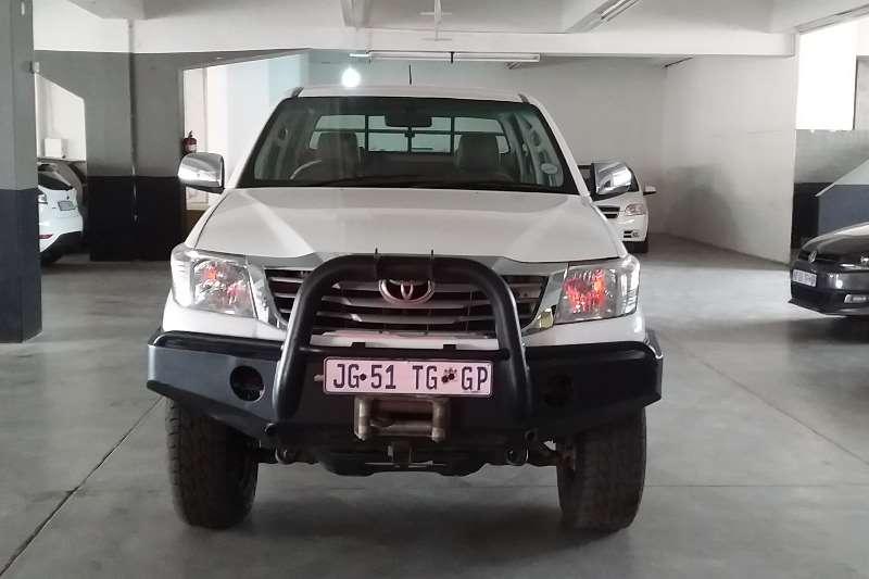 Toyota Hilux 2.5D 4D double cab 4x4 SRX 2009