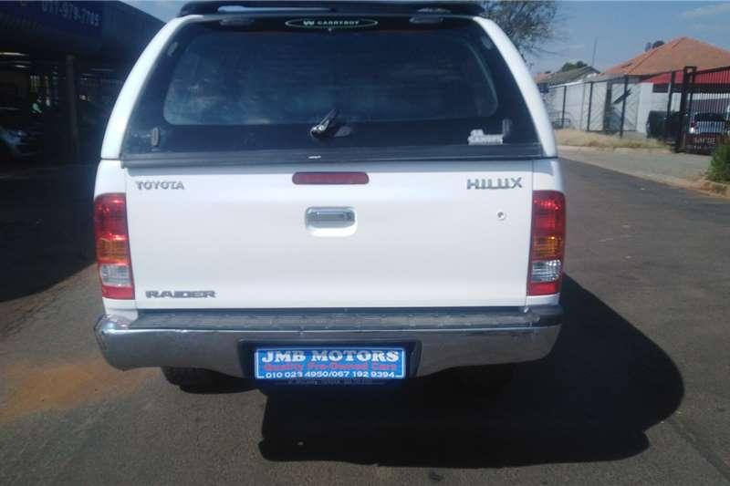 Used 2009 Toyota Hilux 2.5D 4D double cab 4x4 SRX