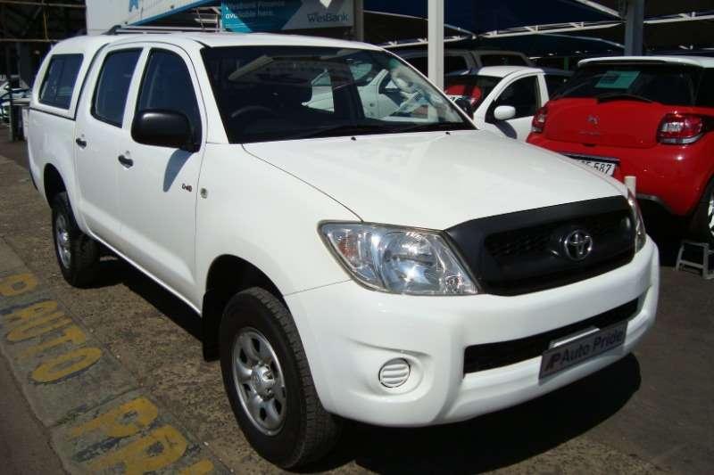 Toyota Hilux 2.5D 4D double cab 4x4 SRX 2010