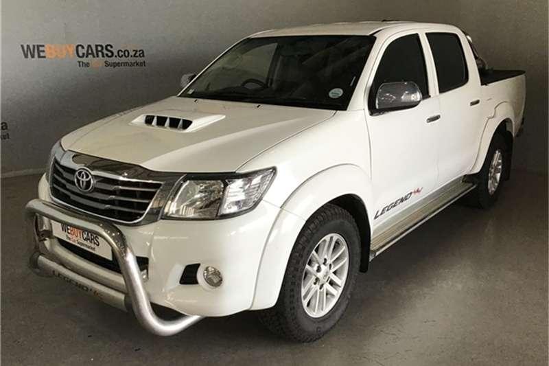Toyota Hilux 2.5D 4D double cab 4x4 SRX 2011
