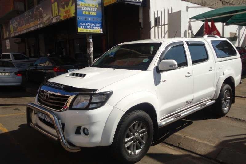 Toyota Hilux 2.5D 4D double cab 4x4 SRX 2012