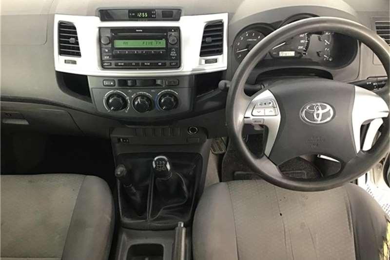 Toyota Hilux 2.5D-4D double cab 4x4 SRX 2012