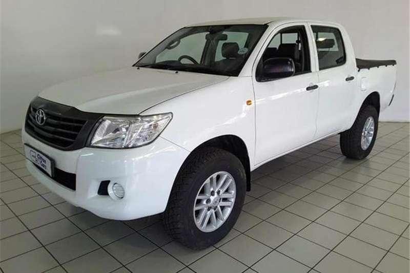 Toyota Hilux 2.5D-4D double cab 4x4 SRX 2014
