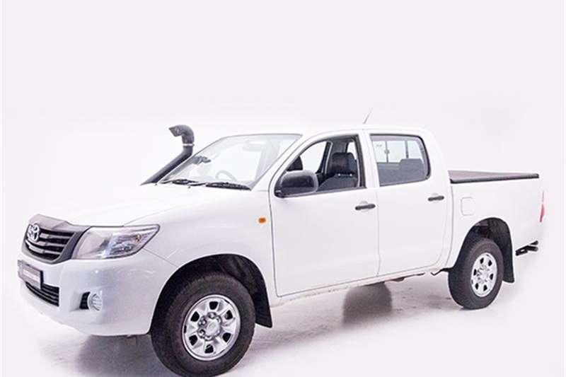 Toyota Hilux 2.5D 4D double cab 4x4 SRX 2015