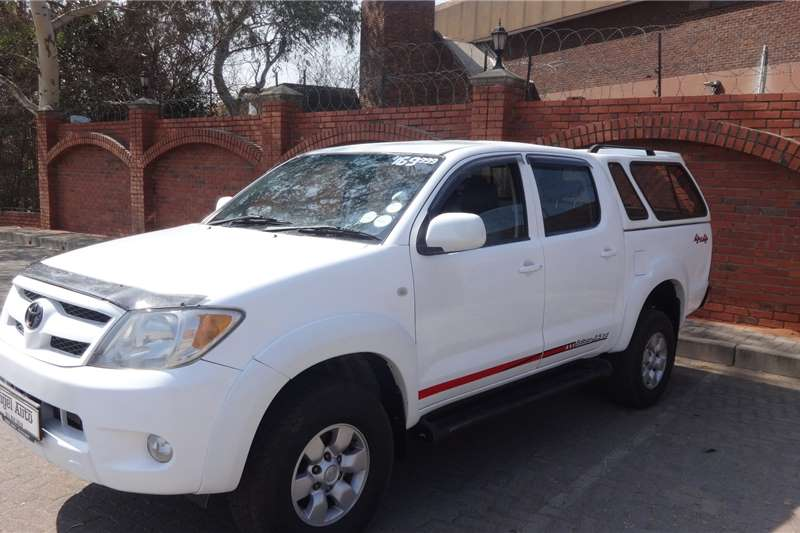 Used 2007 Toyota Hilux 2.5D 4D double cab Raider