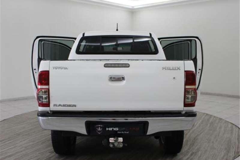 Toyota Hilux 2.5D 4D double cab Raider 2011