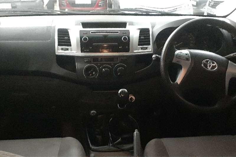Toyota Hilux 2.5D 4D double cab Raider 2015