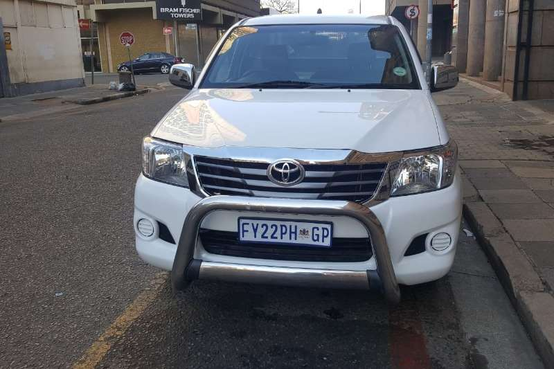 Used 2011 Toyota Hilux 2.5D 4D S
