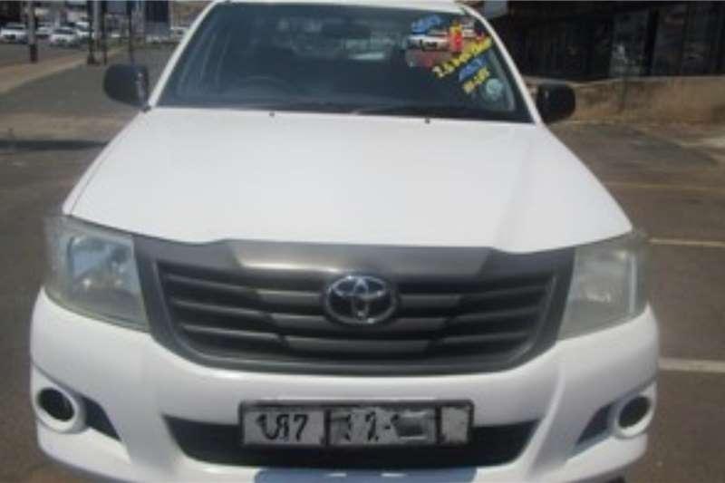 Toyota Hilux 2.5D 4D S 2012