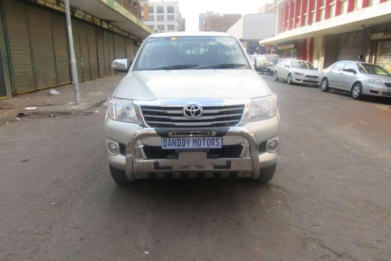 Toyota Hilux 2.7 4x4 SRX 2013