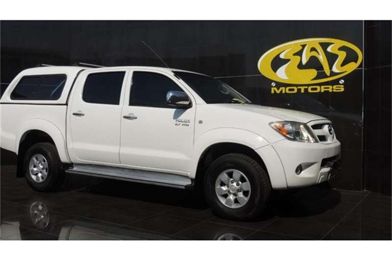 Toyota Hilux 2.7 double cab Raider 2008