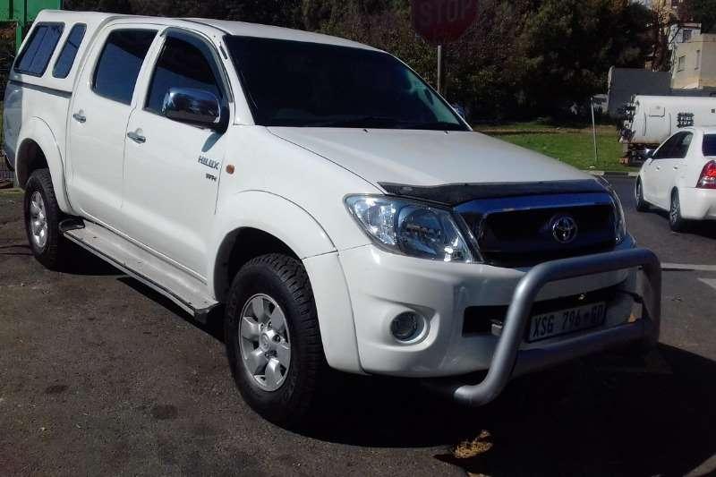 Used 2009 Toyota Hilux 2.7 double cab Raider