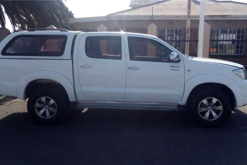 Used 2009 Toyota Hilux 2.7 double cab Raider