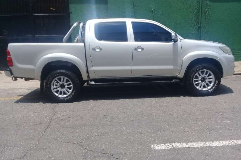 Toyota Hilux 2.7 double cab Raider 2012