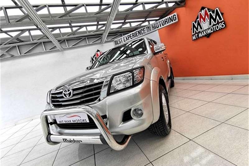 Toyota Hilux 2.7 double cab Raider 2012