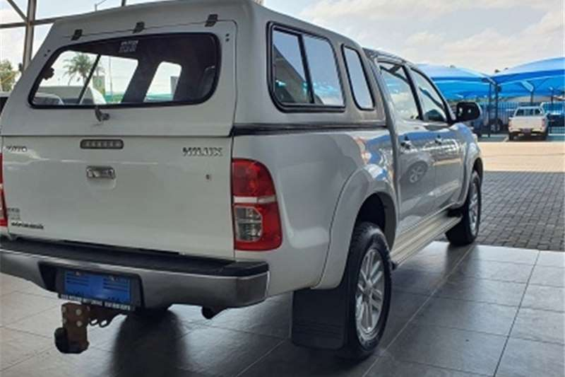 Toyota Hilux 2.7 double cab Raider 2013