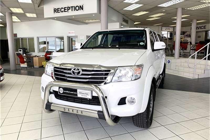 Toyota Hilux 2.7 double cab Raider 2014