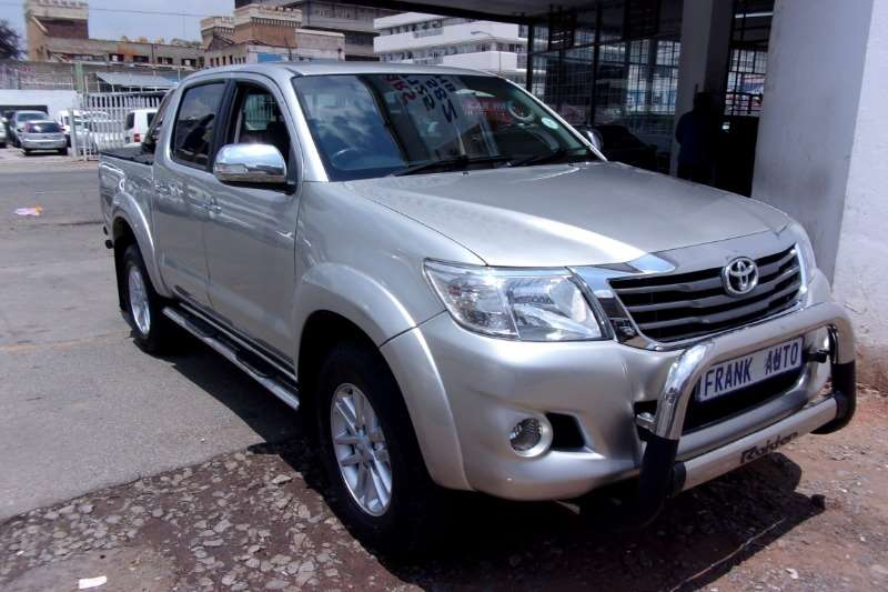 Used 2011 Toyota Hilux 2.7 double cab Raider Heritage Edition