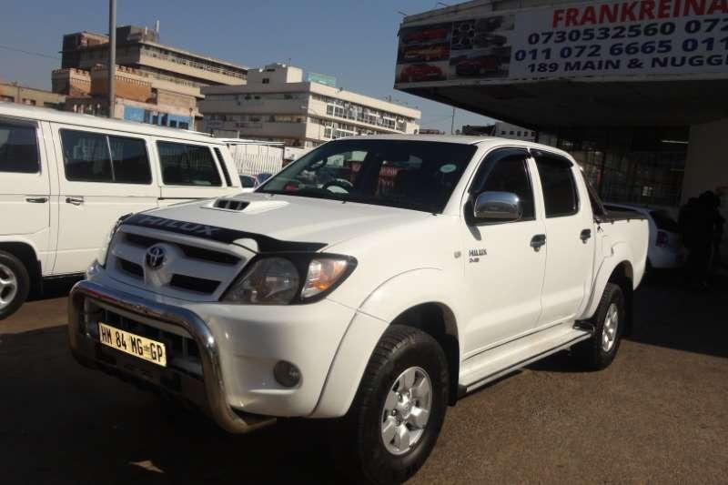 Toyota Hilux 2.7 double cab SRX 2011
