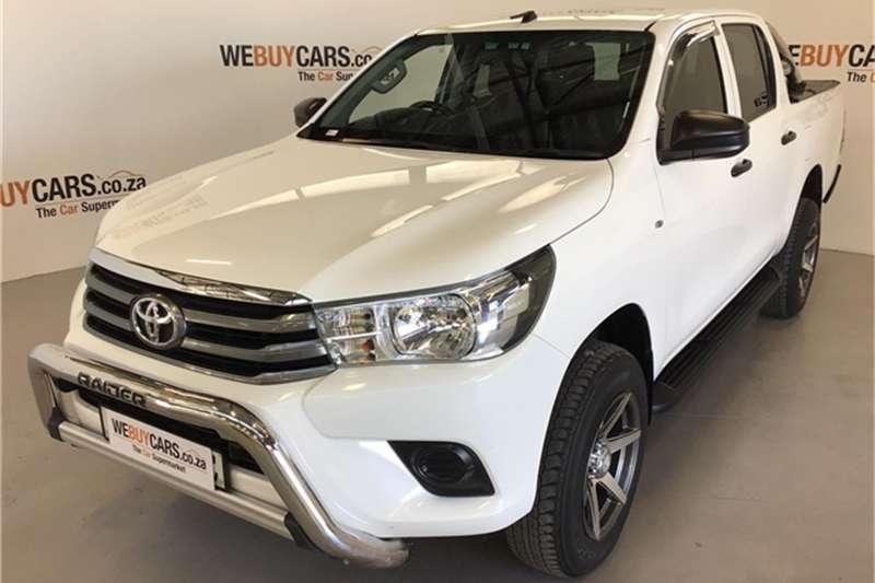Toyota Hilux 2.7 double cab SRX 2016