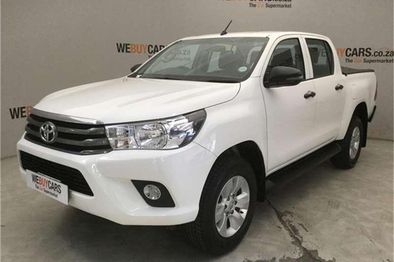 Toyota Hilux 2.7 double cab SRX 2018
