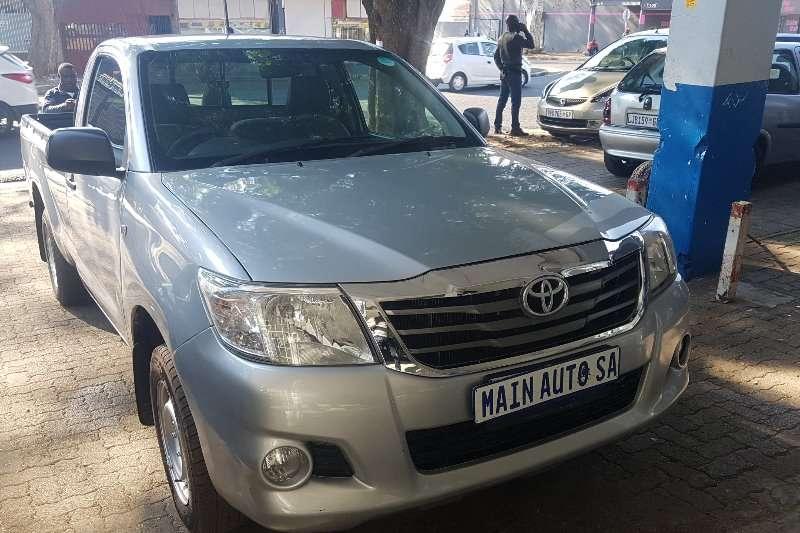 Toyota Hilux 2.7 SRX 2012