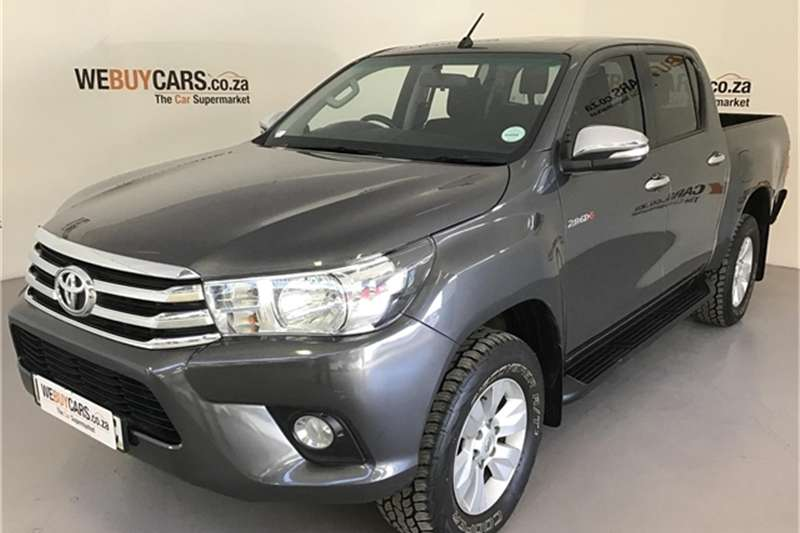 Toyota Hilux 2.8GD 6 double cab 4x4 Raider 2016